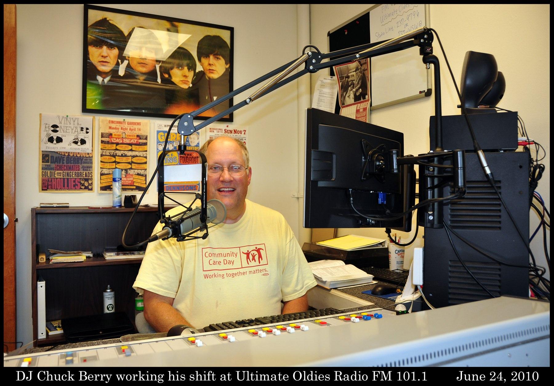 "DJ ""other"" Chuck Berry- Thursday 7-9pm | Oldies FM 97 3"